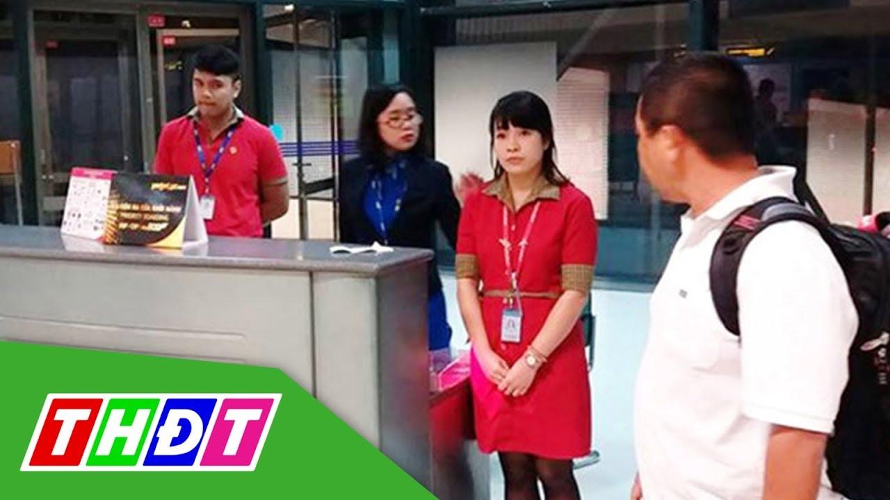 Kỷ luật nhân viên VietJet xé vé khách trễ chuyến | THDT