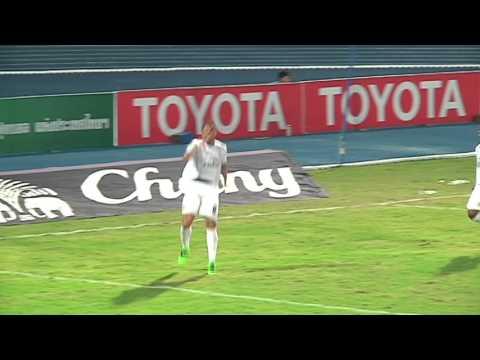 ไฮไลท์ ฟุตบอล โตโยต้า ไทยลีก 2016 | ชลบุรี FC - สุพรรณบุรี FC