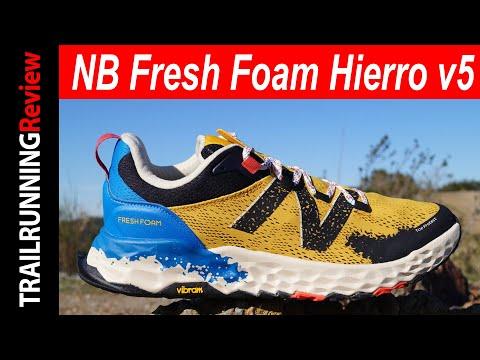 New Balance Fresh Foam Hierro v5 Review - Lo mejor de todas versiones de las Hierro