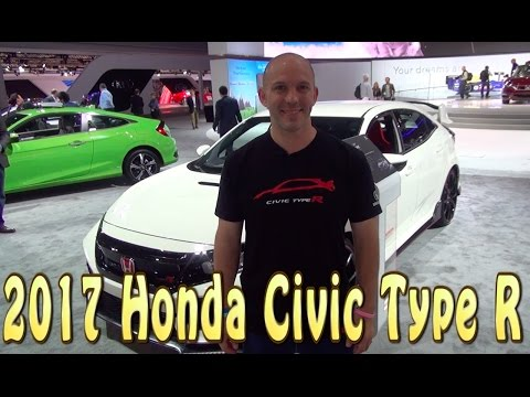 The fastest FWD Production car in the world! The 2017 Honda Civic Type R