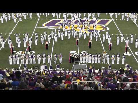 UNI Panther Marching Band--Fall Out Boy halftime show, 11.21.2015