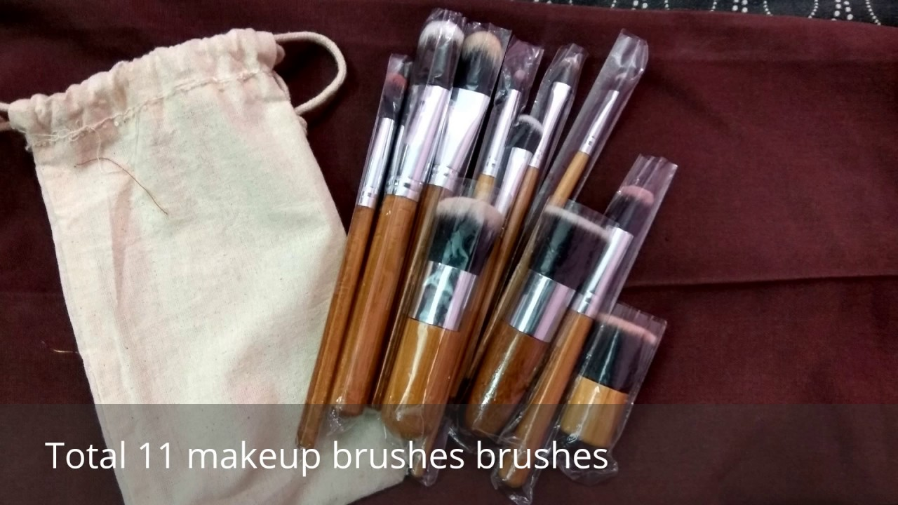 Most affordable best makeup brush set in india | Amazon.in