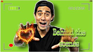 ZACH KING behind the scenes (illusion) (magic) (tricks)