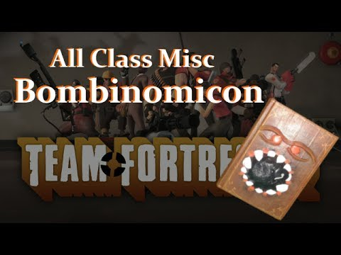 How to make real tf2 weapon : Bombinomicon (all class)