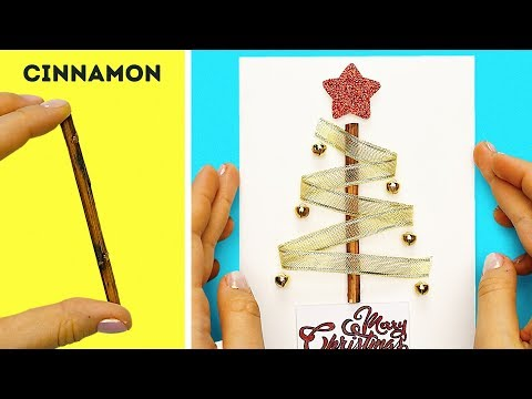 49 EASY DIY CHRISTMAS AND NEW YEAR CARDS