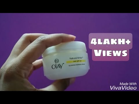 Olay Natural White Glowing Fairness Cream Review