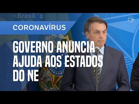 BOLSONARO ANUNCIA R$ 8 BI PARA SAÚDE AO NE E SUSPENSÃO DA DÍVIDA DE ESTADOS