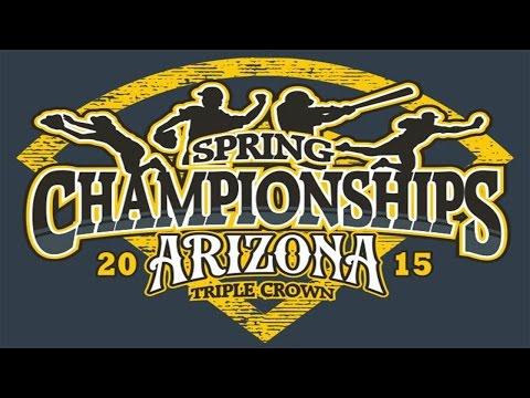 Triple Crown Sports - Arizona Spring Championship Tees