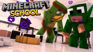 Minecraft School S2 - WE MADE THE WHOLE SCHOOL GET SICK!