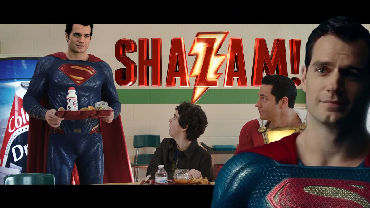 Download Shazam Ending with Henry Cavill as SUPERMAN (FAN EDIT)! Waiting for Zack Snyder's Justice League