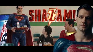Shazam Ending with Henry Cavill as SUPERMAN (FAN EDIT)! Waiting for Zack Snyder's Justice League screenshot 4