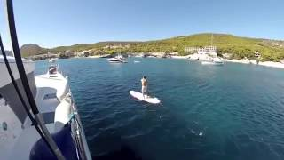 Lagoon 52 - Kavas Catamaran Charter Greece by will farrer