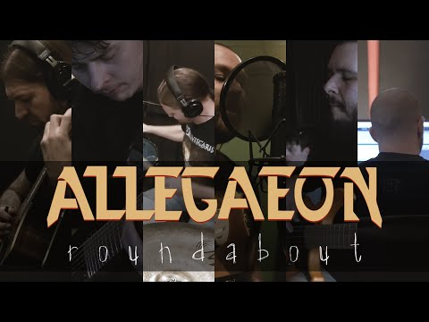 "Allegaeon ""Roundabout"" (Behind the Scenes)"