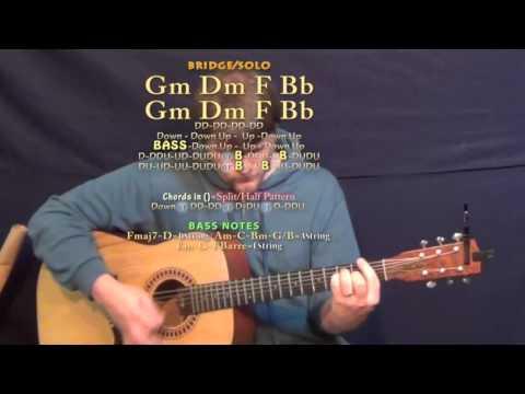 Hollow (Tori Kelly) Guitar Lesson Chord Chart - F Major