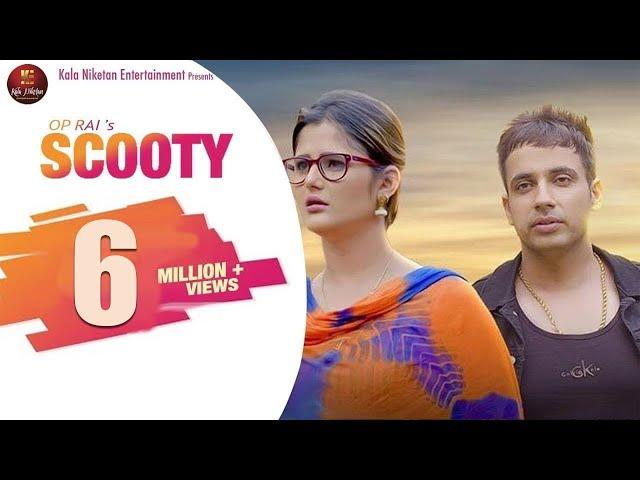 SCOOTY स्कूटी | New Haryanvi Song | Anjali Raghav, Rohit Tehlan | V Raj Bandhu | OP Rai