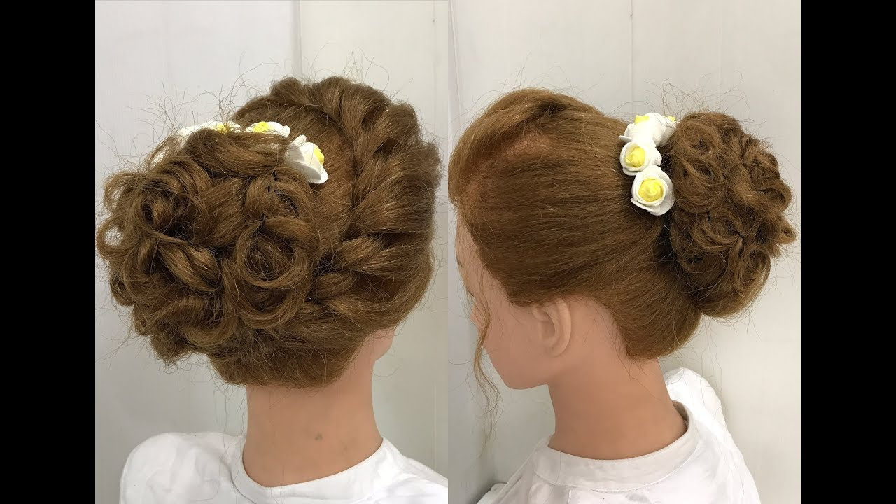 Beautiful Hairstyles For Function: Easy Wedding Hairstyles