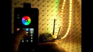 WiFi контроллер светодиодной ленты SR-2818WITR(, 2013-02-08T12:37:08.000Z)