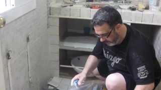Ducha y mueble baño - Estilo Greco Romano