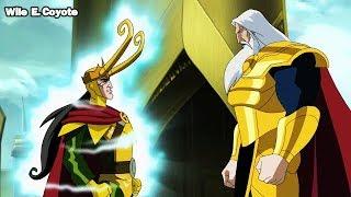 Odin Destierra a Loki ♦ Los Vengadores los Heroes mas Poderosos del Planeta