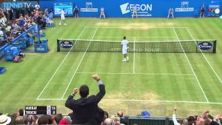 Stick Save By Andy Murray - London Queens Club 2015