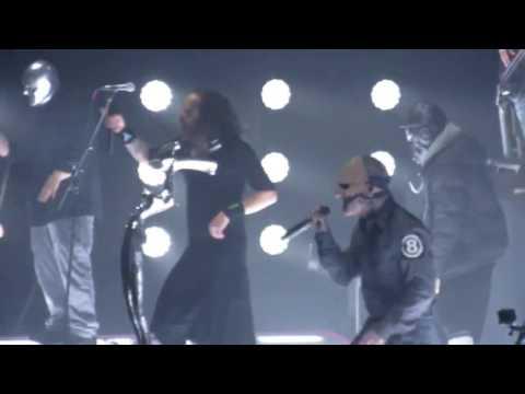 Slipknot and Korn- Sabotage (live footage)
