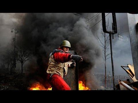 'Dozens dead' in Kyiv as Ukraine 'truce' breaks down - no comment