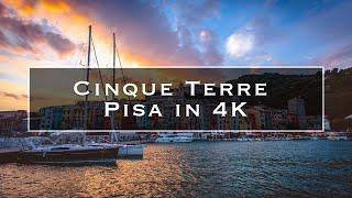 Cinque Terre & Pisa in 4K