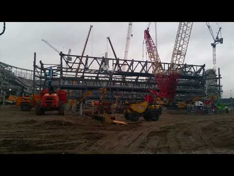 TOTTENHAM'S NEW STADIUM UPDATE: South Stand is Huge & Interview with Builder - 21 September 2017