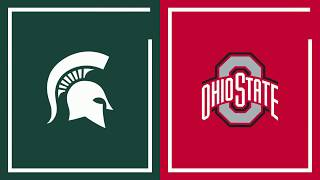 First Half Highlights: Michigan State Leads Ohio State at the Break   2019 B1G Tournment