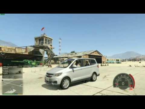 Warna mobil Wuling Confero S pakai GTA V