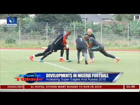Gernot Rohr Highlights Developments In Nigeria Football Pt.2 |Sports Tonight|