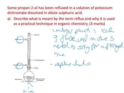 A Level Chemistry Organic Liquid Purification Question - Part 1
