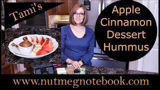 Apple Cinnamon Dessert Hummus
