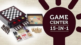 Host a Family Fun Night with the 15-in-1 Game Center