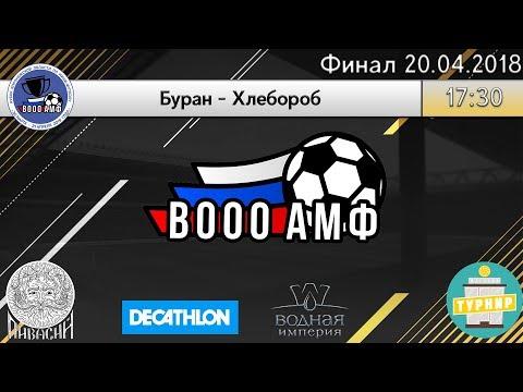 Кубок Воронежской Области по мини-футболу | Финал | Буран - Хлебороб