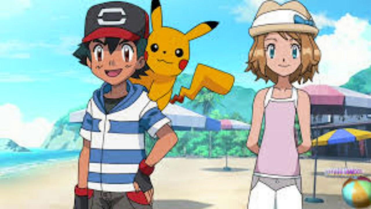 Fan Arts De Pokémon Serena X Ash Serena En Alola Etc Youtube
