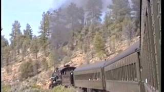 1992 Steam on Grand Canyon Railways