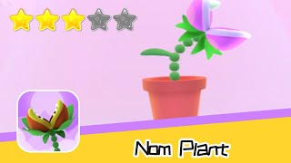 Nom Plant Walkthrough Grow Up! Recommend index three stars