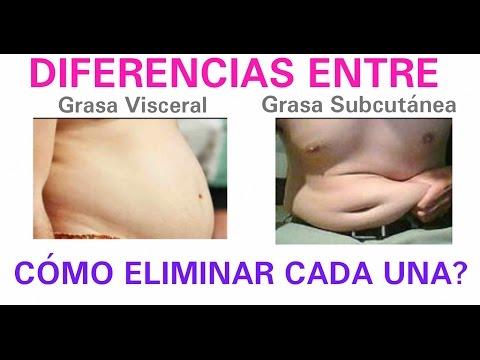 la mejor manera de perder grasa visceral del vientre