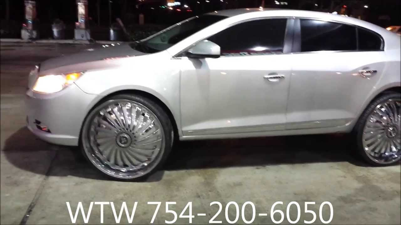 Acewhips Net Wtw Customs Silver 2012 Buick Lacrosse On