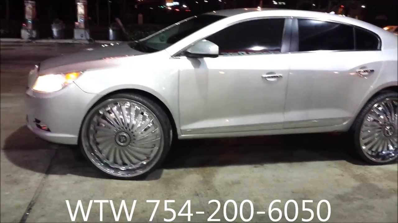 Acewhips.NET- WTW Customs- Silver 2012 Buick Lacrosse on ...