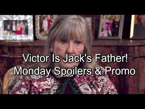 The Young and the Restless Spoilers Monday, May 21 Update – Dina Reveals Victor Is Jack's Father –