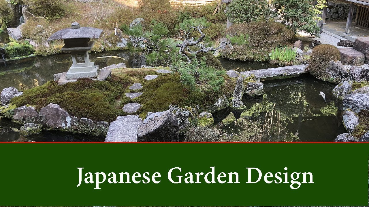 Japanese Garden Design - Basic principles and ideas for small and ...