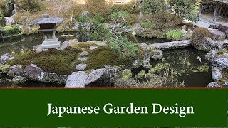 Gambar cover Japanese Garden Design - Basic principles and ideas for small and large gardens.
