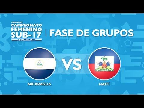 CU17W: Nicaragua v Haiti