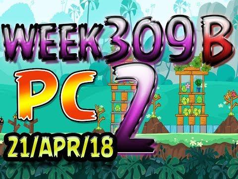 Angry Birds Friends Tournament Level 2 Week 309-B PC Highscore POWER-UP walkthrough
