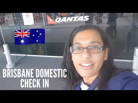 Brisbane domestic airport check in