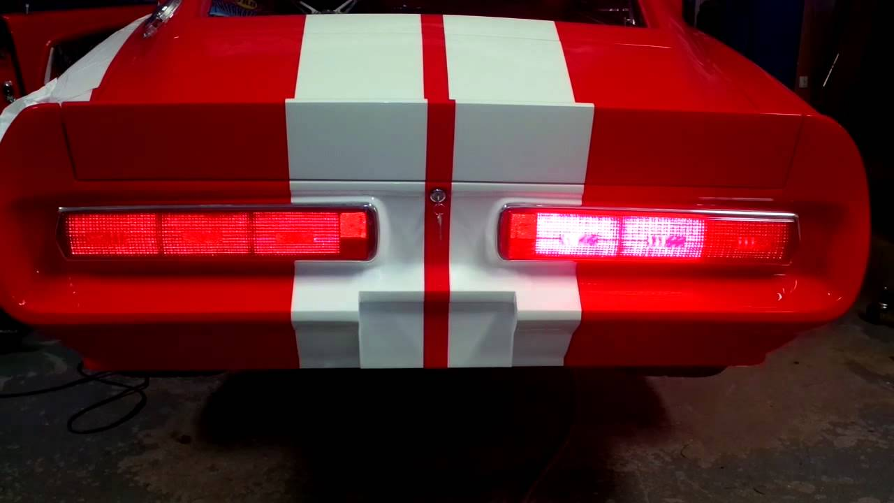 67-68 Shelby Mustang LED tail lights & 67-68 Shelby Mustang LED tail lights - YouTube azcodes.com