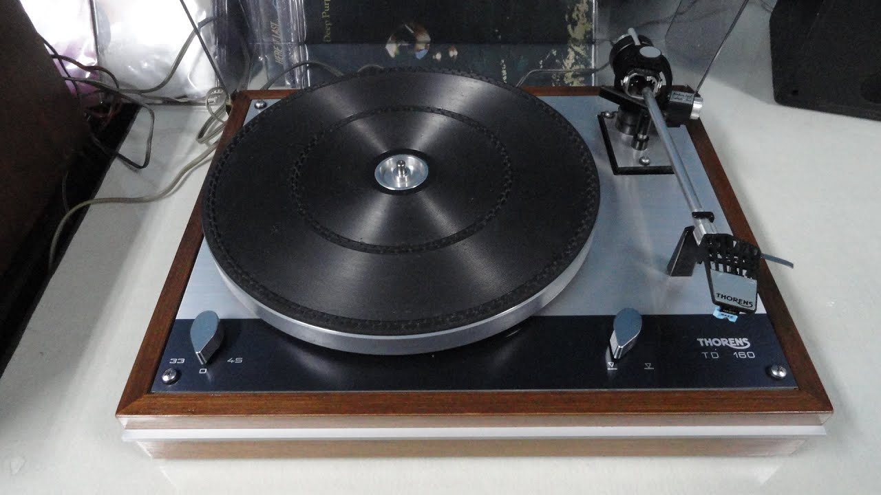 O Rei do Som - Toca Discso Thorens TD-160