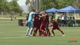 Edgar Duran game-winning goal | Real Salt Lake-Arizona Academy U-17/18 vs. Shattuck-Saint Mary's